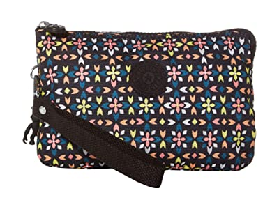 Kipling Creativity XL Printed Pouch (Floral Mozzaik) Clutch Handbags