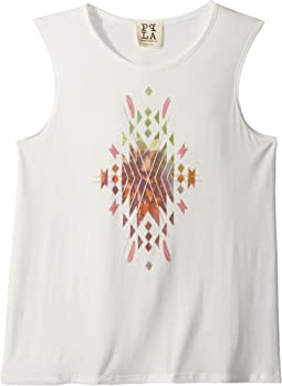 People's Project LA Kids - Geo Tropical Tank Top (Big Kids)