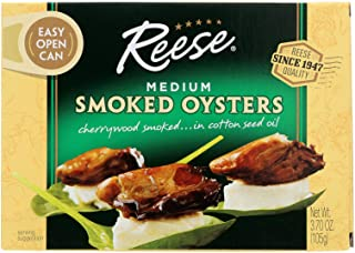 Reese, Oyster Smoked Medium, 3.7 OZ (Pack of 10)