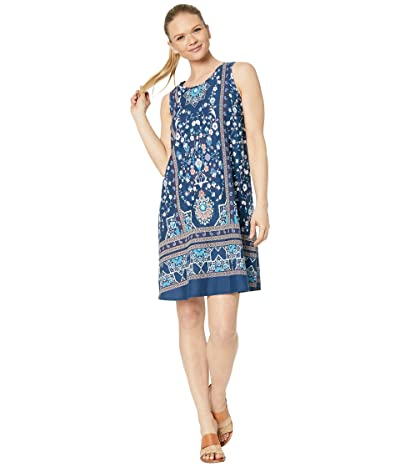Aventura Clothing Stacia Dress (Navy Peony) Women
