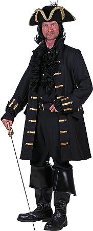 Piraten Mantel Pirat Kapitän Freibeuter Gehrock Gr XL Märchen Männer Kostüm