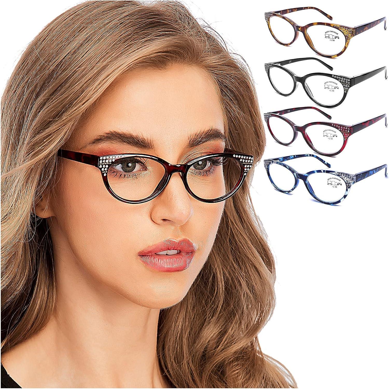 Buy AQWANO Blue Light Blocking Glasses Women Designer, Cat Eye ...