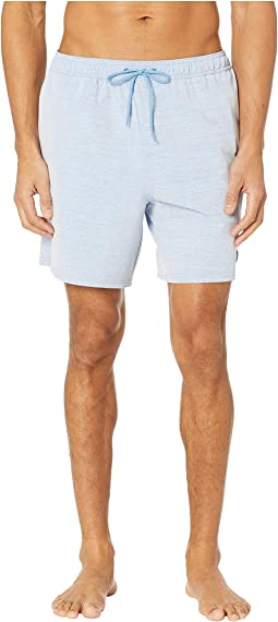 Heathered Chappy Swim Trunks