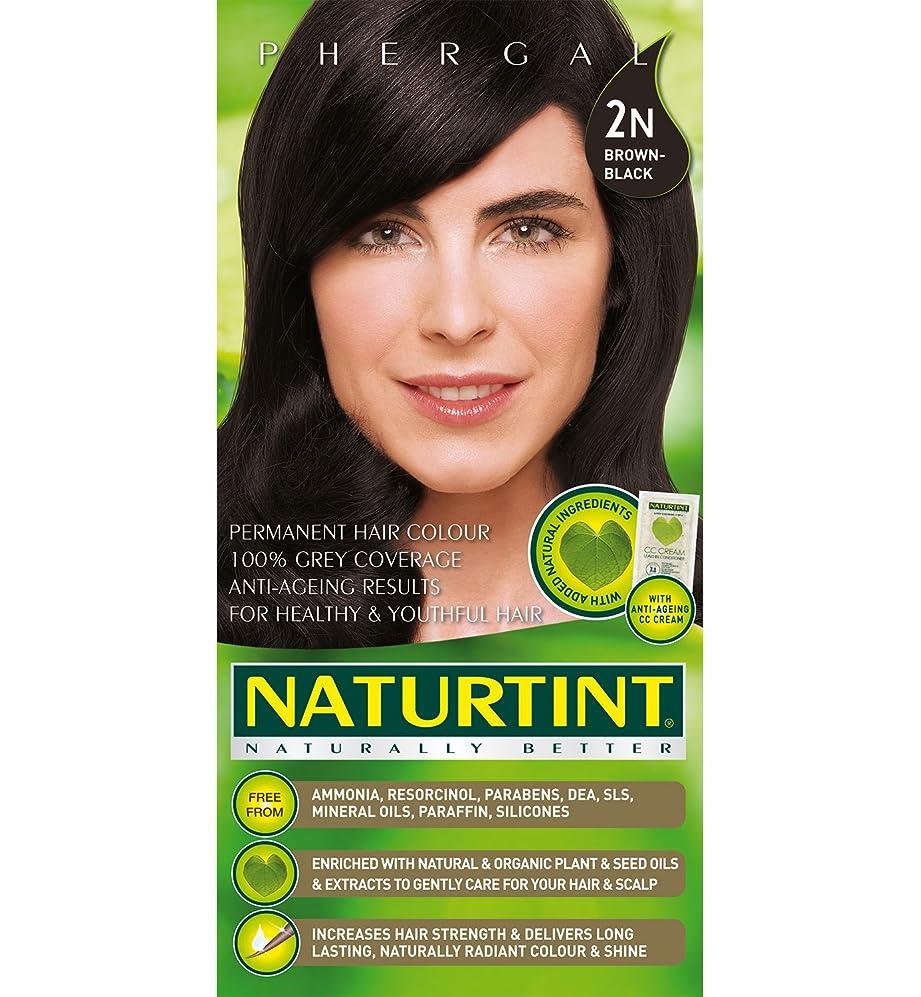 上流の注意規定Naturtint Hair Color 2N Brown Black Permanent (並行輸入品)