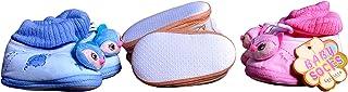 Kezle™ baby shoe Teddy style Unisex Shoes [3-9 Months] 3 Pair.