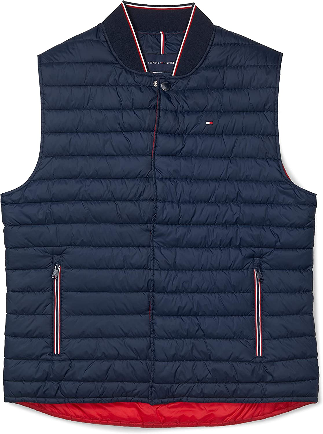 Tommy Hilfiger Men's Adaptive Insulator Vest with Magnetic Zipper
