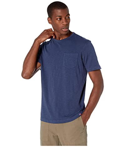 The Normal Brand Vintage Slub Pocket T-Shirt (Dark Indigo) Men