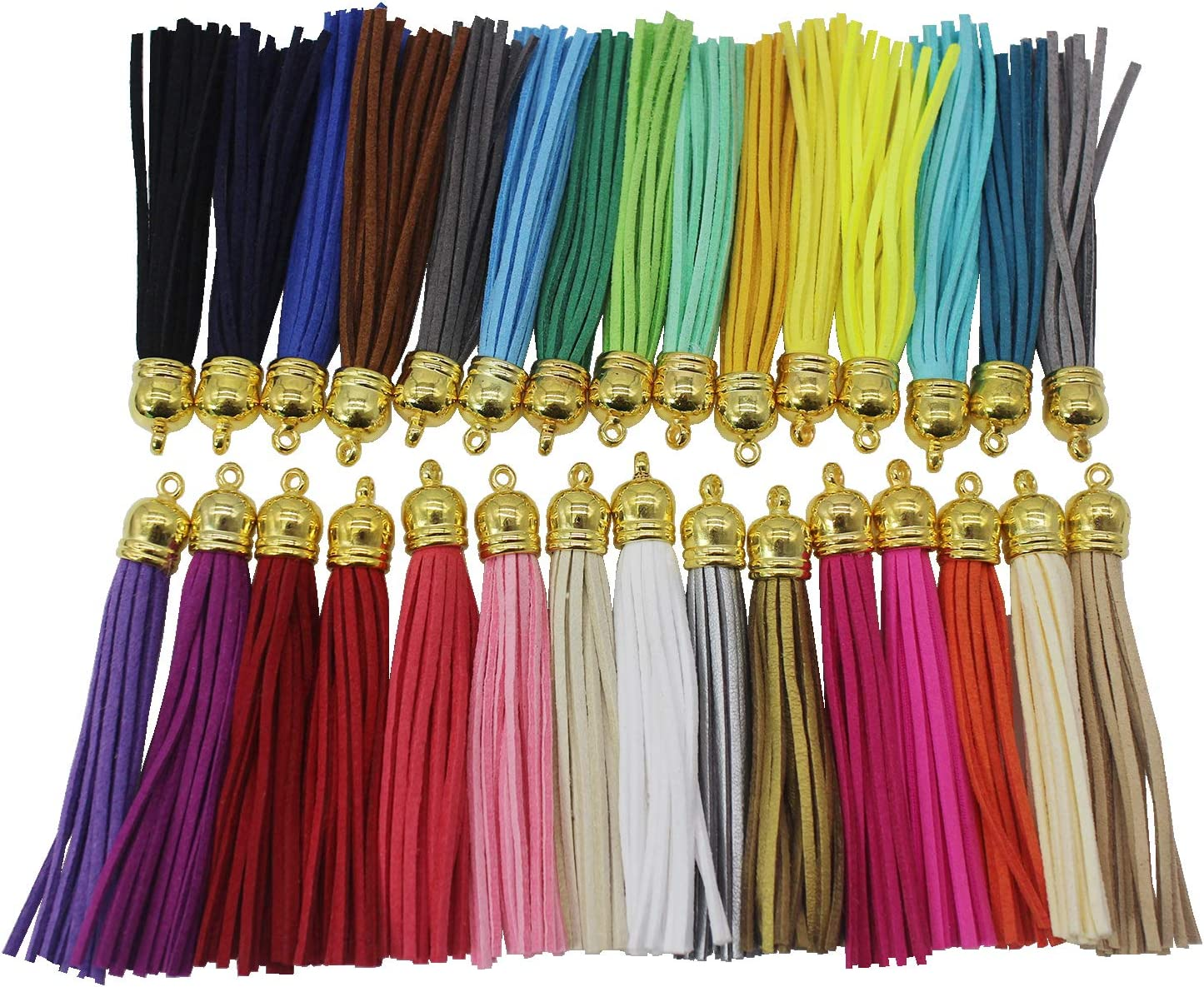Pamir Tong 30pcs lot Leather Tassel Japan's largest assortment DIY Earrin Straps 2021 spring and summer new Phone Cell