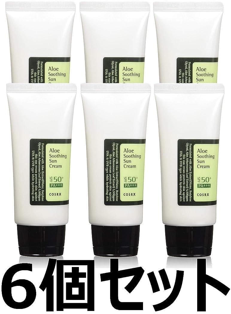 解釈するディンカルビルポータル(6 Pack) COSRX Aloe Soothing Sun Cream (並行輸入品)