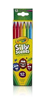 Crayola Silly Scents Twistables lápices de colores, 12 unidades, edades de 3 y más (68-7402)