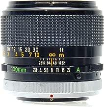 Best canon fd 100mm f 2.8 ssc Reviews