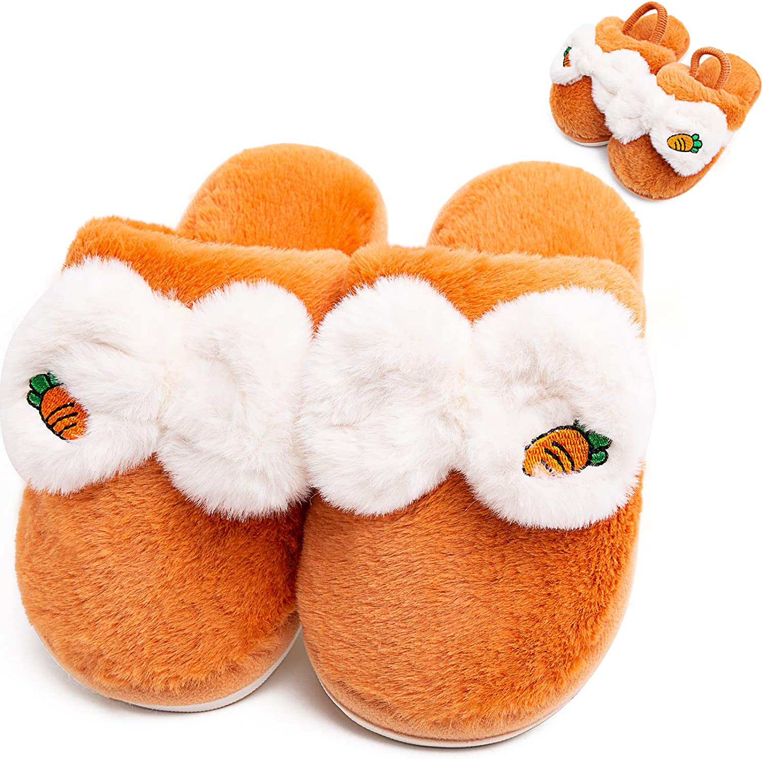 Boys Girls Fluffy Slippers Cute House Slipper Fruit Home Fixed price Free shipping for sale Pattern