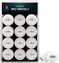 PRO SPIN Ping Pong Balls - Premium White 40+ Training Balls for Indoor & Outdoor Table Tennis