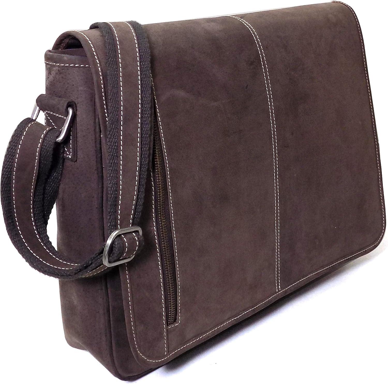 160025f15b1f5 Laptop-Tasche ATLANTA (15 ) Echtes Echtes Echtes B uuml ffel-Leder Notebook  Umh auml ngetasche Herren Damen Braun By Alpenleder B007KY6OUY 0e35d1