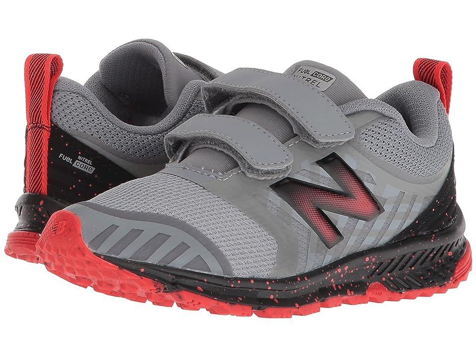 New Balance Kids FuelCore NITREL (Little Kid/Big Kid) (Steel/Flame) Boys Shoes