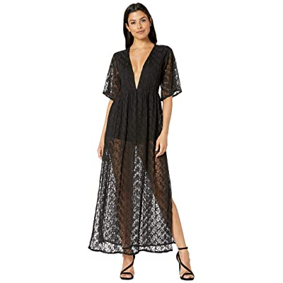 Tolani Mahila by Tolani Darlene Maxi Dress (Raven) Women