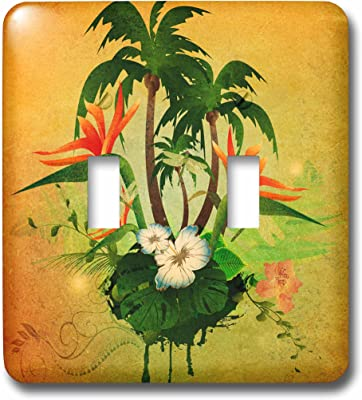 3drose Lsp 170330 2 Strawberry Plant With Fruits And White Flowers Light Switch Cover