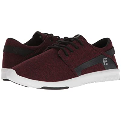etnies Scout (Black/Red/Black) Men