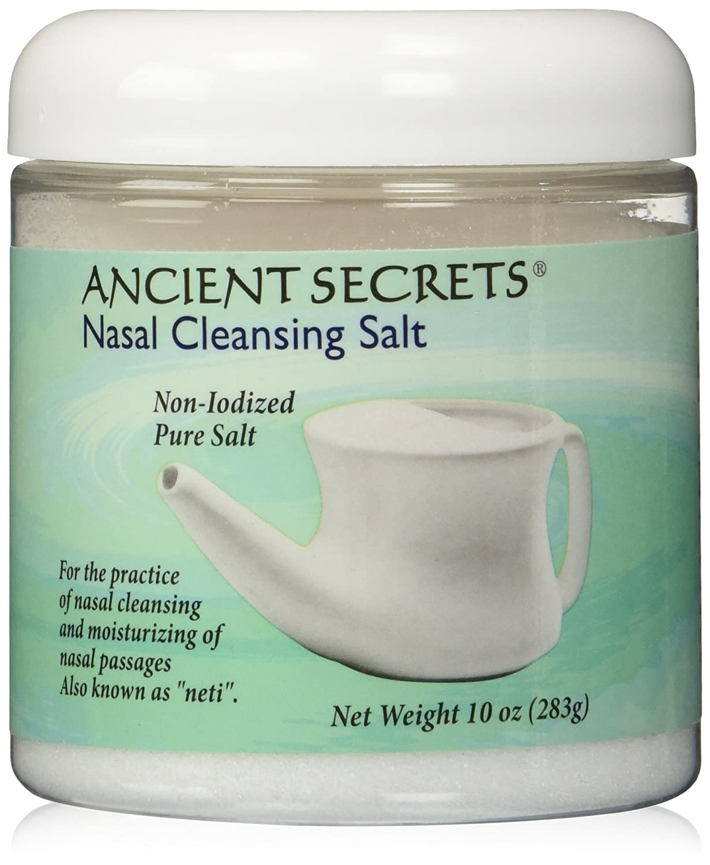 Nasal Cleansing Max 54% OFF Salt Max 59% OFF Jar Secrets oz Ancient 10