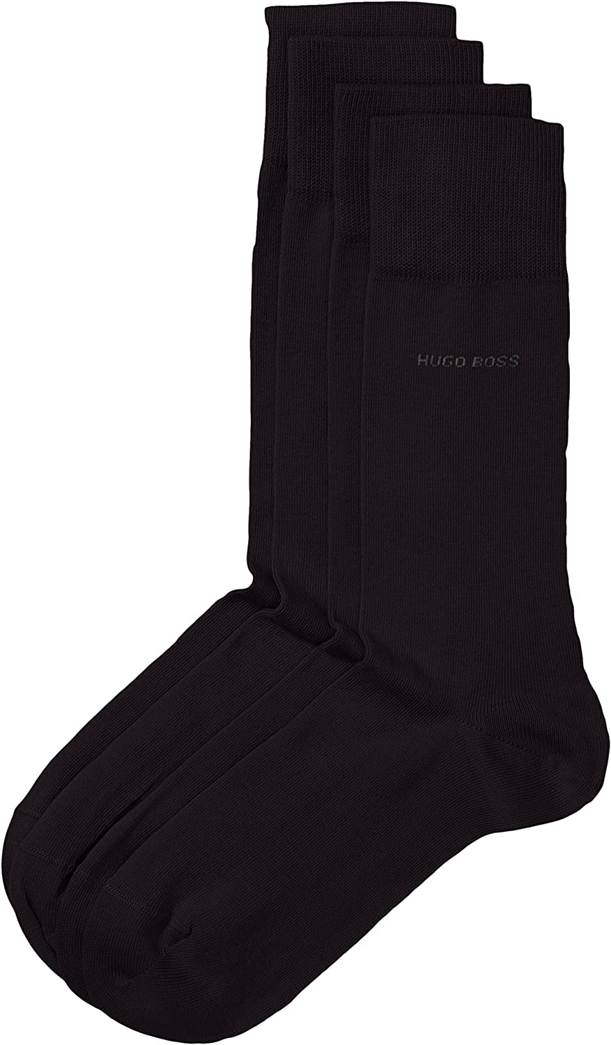 Boss Two Pack Sock RS Uni in Black 9-11