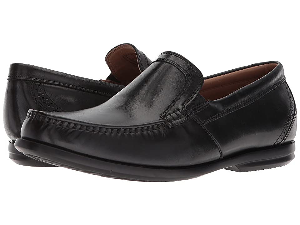 Clarks Un Gala Free (Black Leather) Men