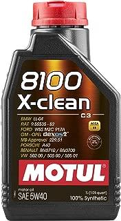 8100 X-CLEAN 5W40 1L (1 Pack)