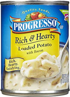 Progresso Rich and Hearty Loaded Potatoes with Bacon - 18.5 oz - 12 Pack