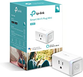TP-Link Mini WiFi Smart Plug, Wi-Fi, Compatible with Alexa, Only Occupies one Socket (HS105),Wall-Light, Electronic-Component-switches, 1-Pack (Renewed)