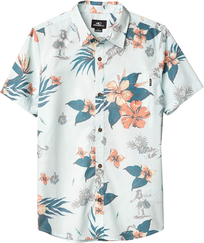 ONEILL Boys Hulala Short Sleeve Button Down Shirt