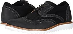 Hawking Knit/Leather Smart Series Dress Casual Wingtip Oxford with NeverWet