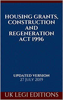 housing grants construction and regeneration act