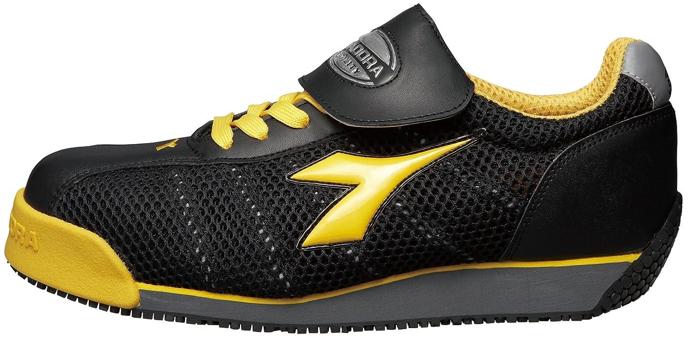 知事地域のなだめる[ディアドラユーティリティ] 作業靴 スニーカー KF25 KF25 ブラック&イエロー(ブラック&イエロー/29.0)