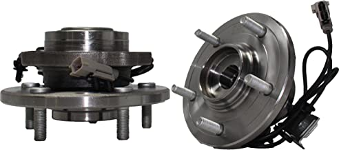 Brand New (Both) Front Wheel Hub and Bearing Assembly for 2004-06 Chrysler Pacifica 5 Lug W/ABS (Pair) 513201 x2