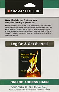Smartbook Access Card for Heat and Mass Transfer: Fundamentals and Applications