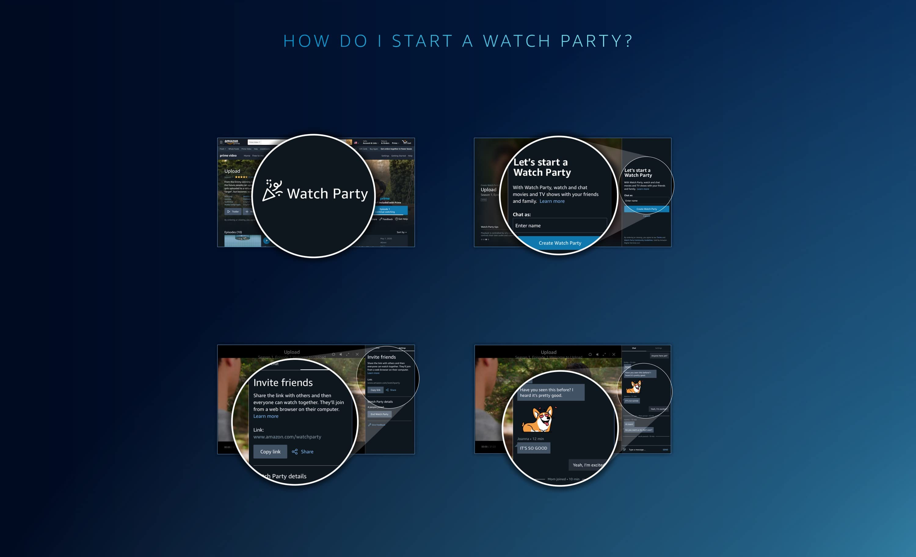 Prime Video Watch Party Stream Tv Movies With Friends