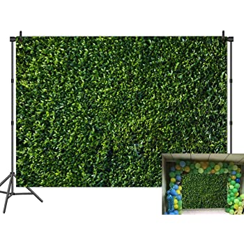 9x16 FT Abstract Vinyl Photography Backdrop,Fresh Vibrant Leaves Pattern and Flowers of Spring Season Background for Party Home Decor Outdoorsy Theme Shoot Props