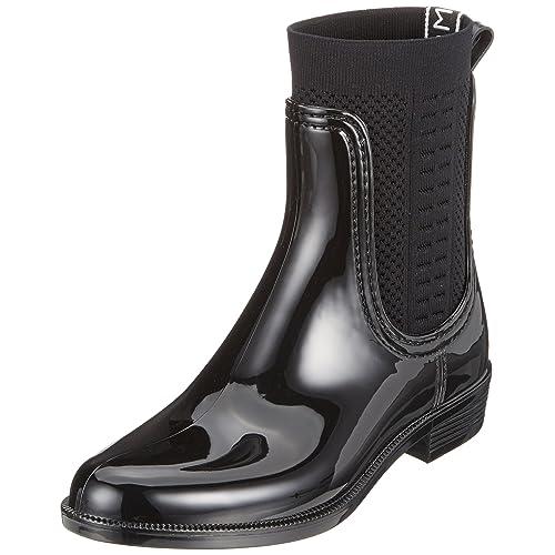 4bf93f87bc5 Black Rain Boots for Women: Amazon.co.uk