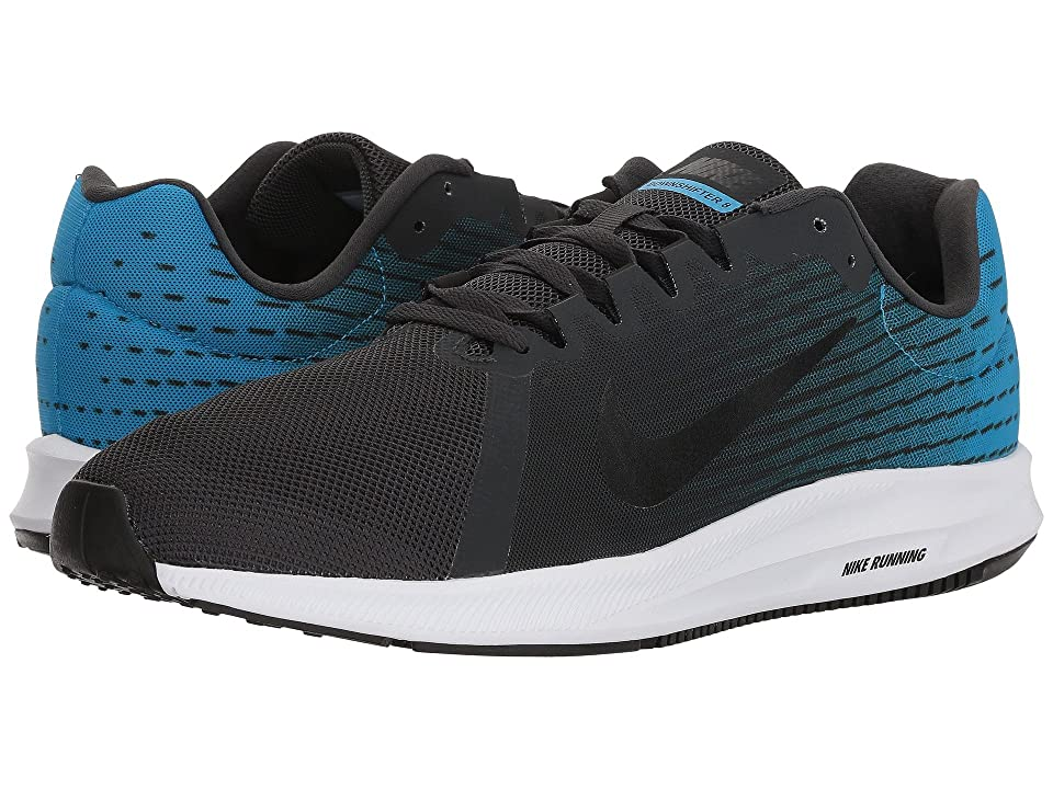 Nike Downshifter 8 (Anthracite/Black/Equator Blue/White) Men