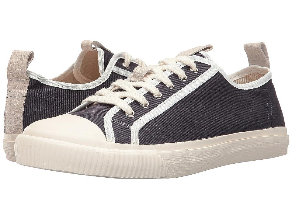 Grenson Canvas Low Top Sneaker (Navy) Men