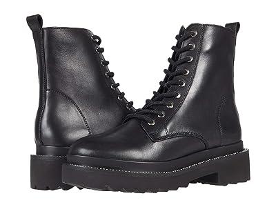 Steve Madden Graham Boot (Black Leather) Women