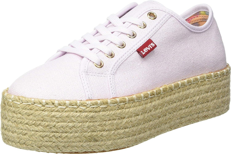 Levi's 年末年始大決算 Women's 5%OFF Wedges Sneaker Shoes