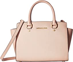 Selma Medium Top-Zip Satchel