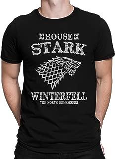 USA Threadz House Stark Game of Thrones T-Shirt for Men