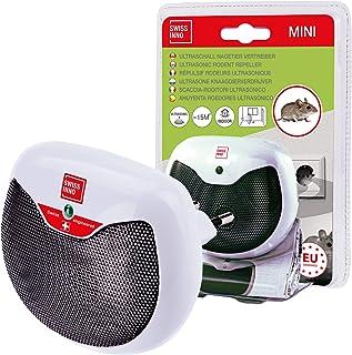 Mini Ultrasonic Knaagdierverjager 15m²: Weert muizen, ratten & andere knaagdieren. Gebruik binnenshuis 1x