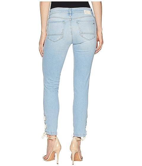 verano de lejía verano encaje en Jeans delgado tobillo mediana Bleach súper altura Mavi de con de lejía Adriana wZqxPvxST