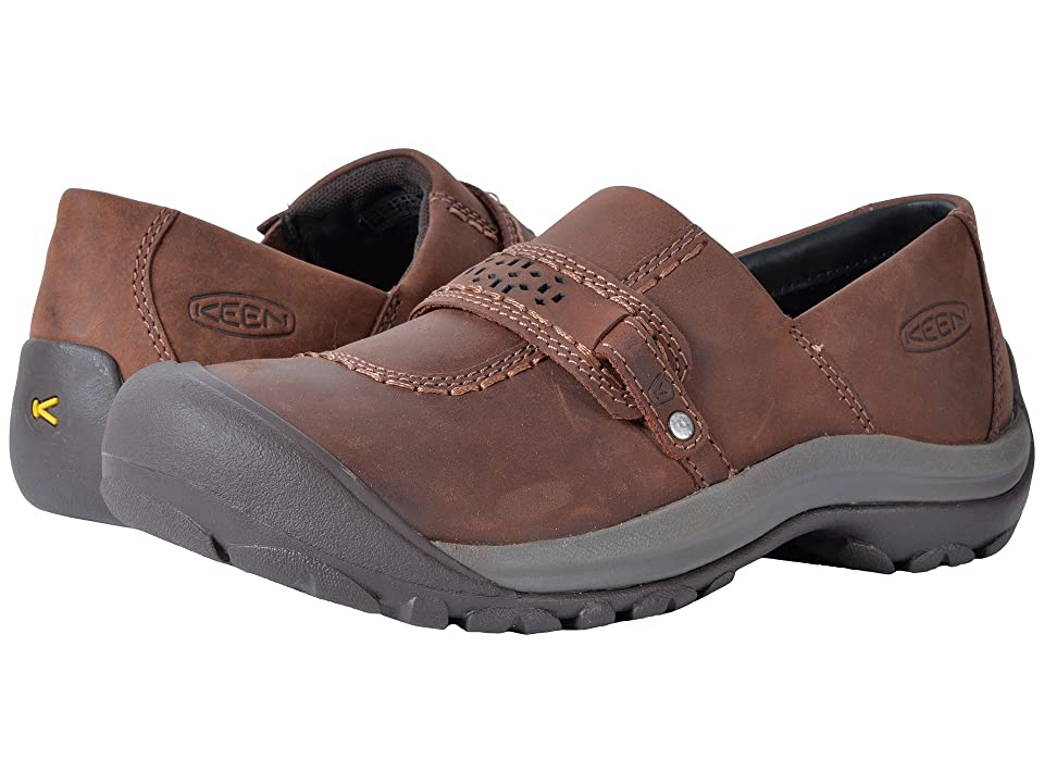Keen Kaci Full Grain Slip-On (Tortoise Shell/Mulch) Women