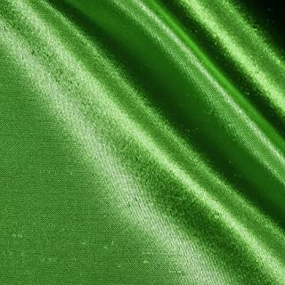 Ben Textiles Shantung Sateen Apple Green Fabric by The Yard, Creek