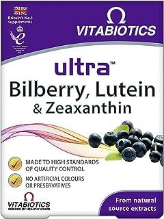 Vitabiotics Ultra Bilberry, Lutein and Zeaxanthin - 30 Tablets