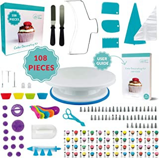 Best cake icing turntable uk Reviews