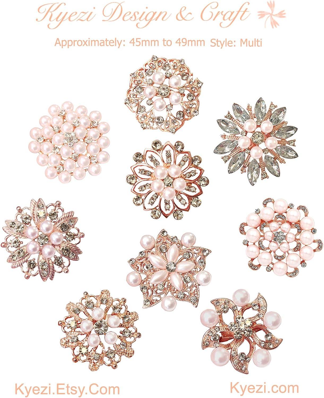 Gorgeous Luxury Large Silver Crystal High Quality Rhinestone Drop Brooch Pin